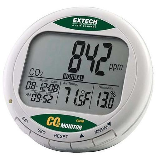 Vochtmeters Extech CO200 CO2 meter